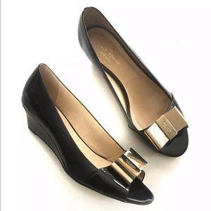 Kate spade ♠️ Theresa patent leather peep toe 11